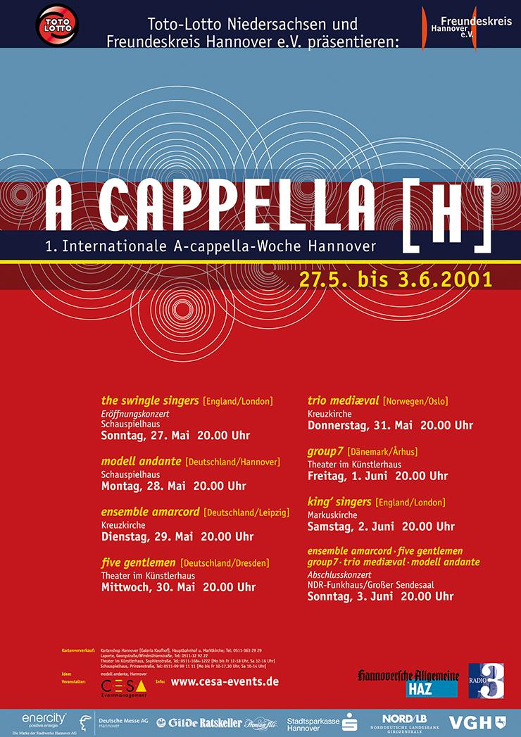 A Cappella 2001A Cappella 2001
