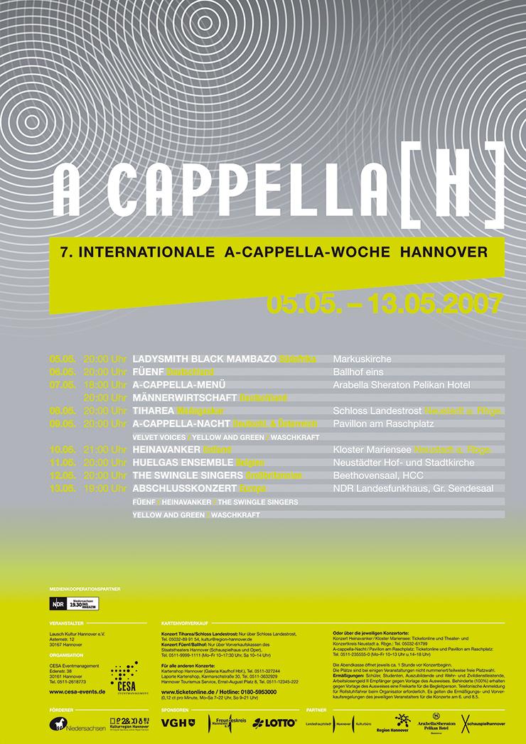 A Cappella 2007